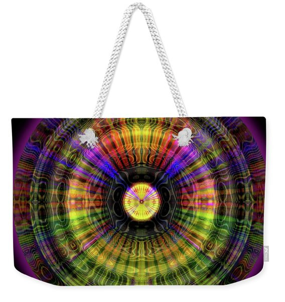 Glow Wheel Four Weekender Tote Bag