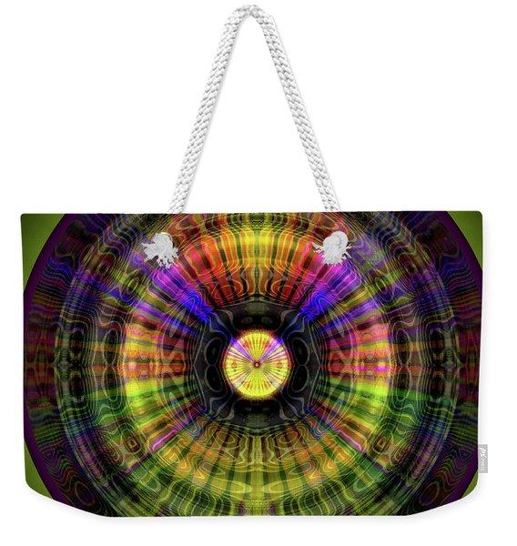 Glow Wheel Six Weekender Tote Bag