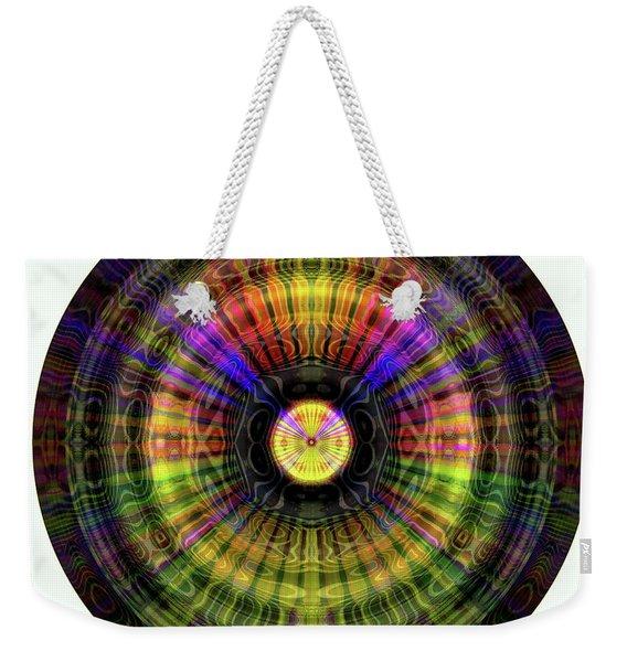 Glow Wheel Ten Weekender Tote Bag