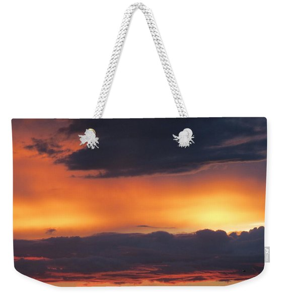 Glowing Clouds Weekender Tote Bag