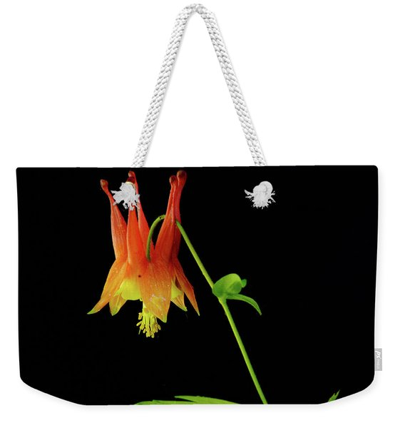 Glowing Colombine Weekender Tote Bag