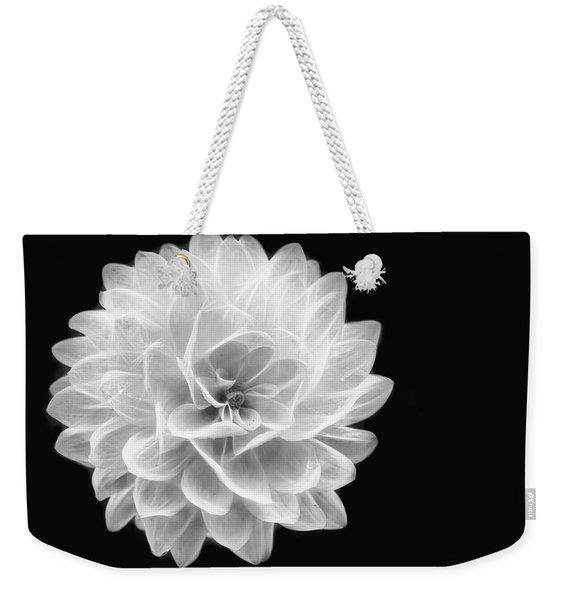 Glowing Dahlia Weekender Tote Bag