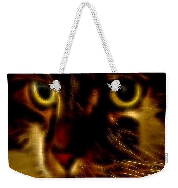 Glowing Intensity Weekender Tote Bag