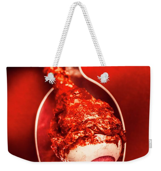 Gmo Tested On Humans Weekender Tote Bag