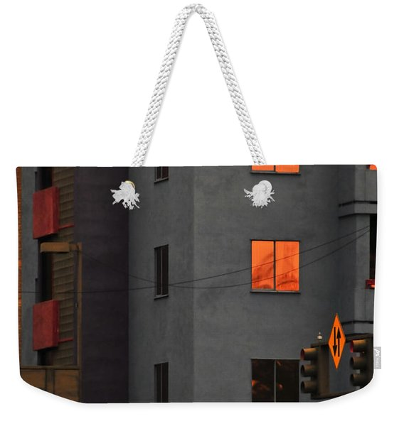 Weekender Tote Bag featuring the photograph Go by Skip Hunt