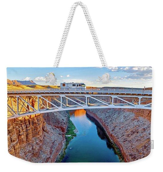 Go West Weekender Tote Bag