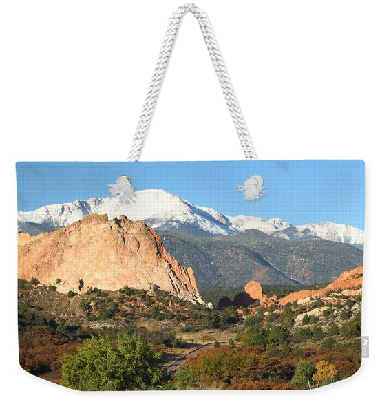 Go West Young Man Weekender Tote Bag