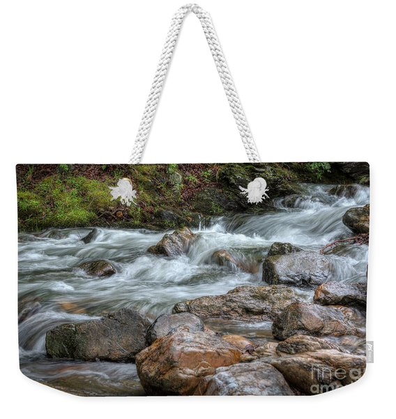 Go With The Flow Weekender Tote Bag