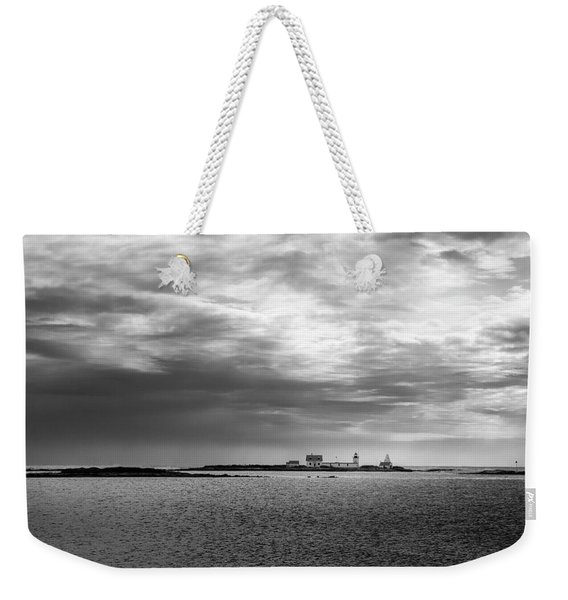 Goat Island Light, Cape Porpoise, Maine Weekender Tote Bag
