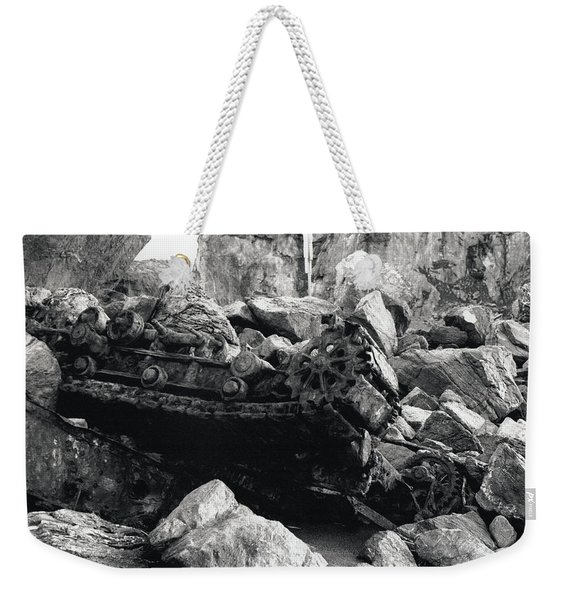 Goat Rock Tractor Jenner California Weekender Tote Bag