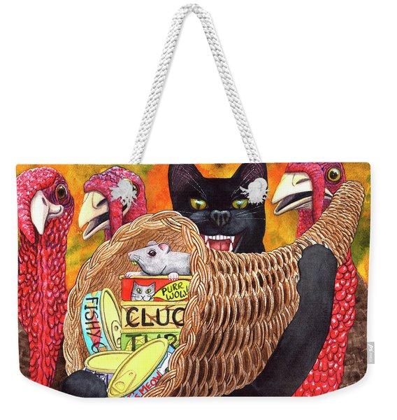 Gobble, Gobble Weekender Tote Bag