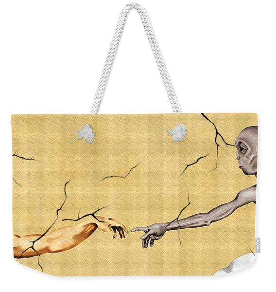 God And Man Weekender Tote Bag