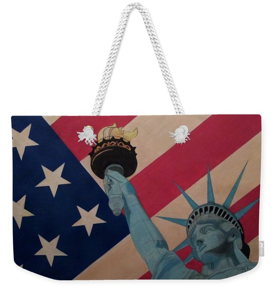 God Bless The Usa Weekender Tote Bag