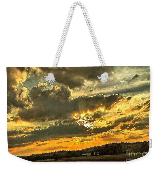 God Hand Weekender Tote Bag
