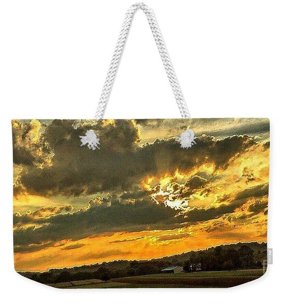 God Hand Weekender Tote Bag