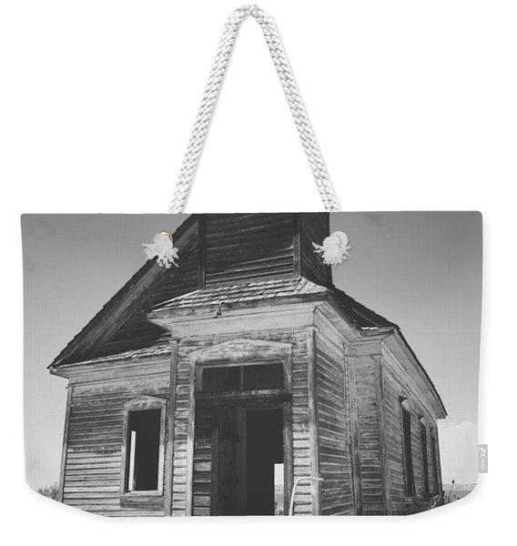 God Has Left The Building Weekender Tote Bag