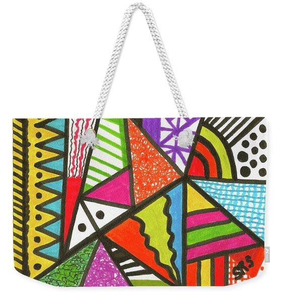 God Is Color Redux Weekender Tote Bag