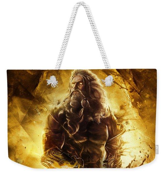 God Of War Ascension Weekender Tote Bag