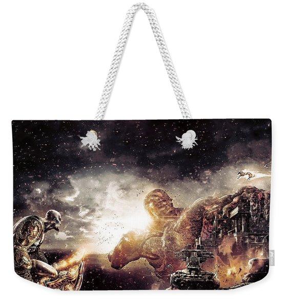 God Of War IIi Weekender Tote Bag