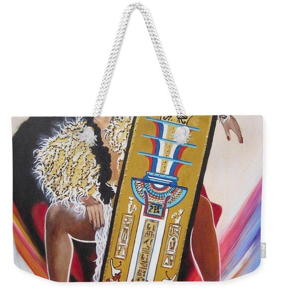 The  Tet Of Osiris Fra Blaa  Kattproduksjoner  Weekender Tote Bag