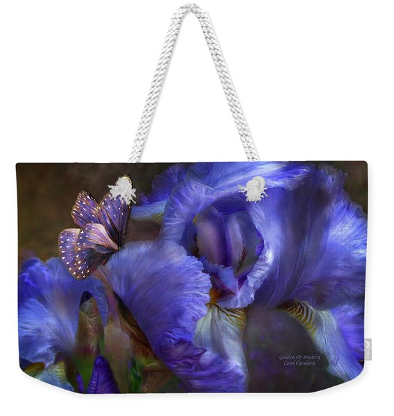 Goddess Of Mystery Weekender Tote Bag