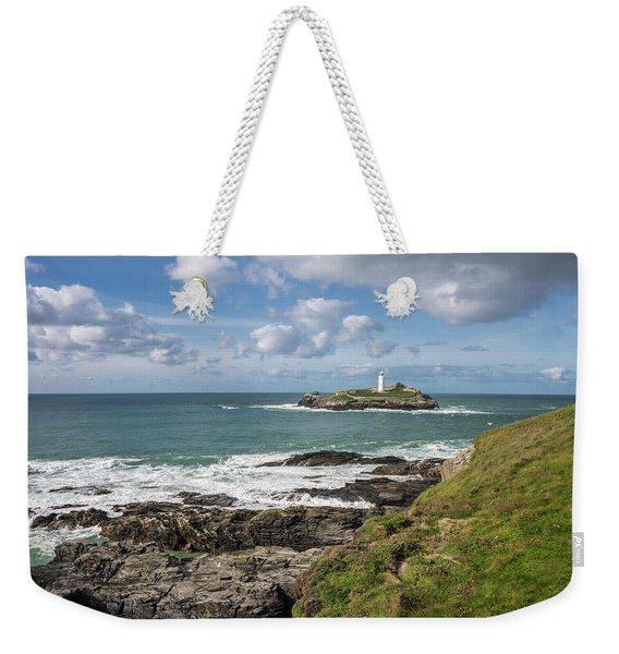 Godrevy Lighthouse 3 Weekender Tote Bag
