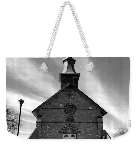 Gods House Weekender Tote Bag