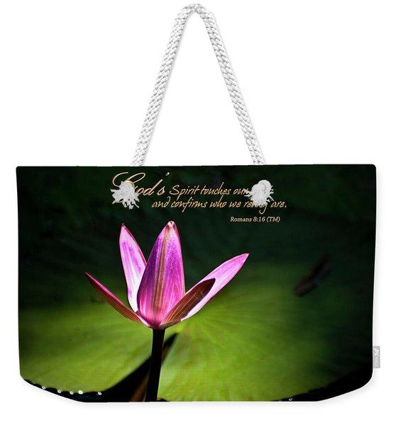 God's Spirit Weekender Tote Bag