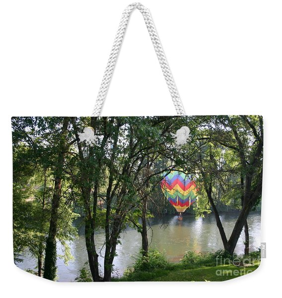 Going Down River Weekender Tote Bag