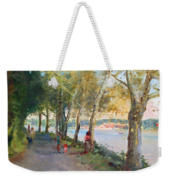 Going For A Stroll Weekender Tote Bag