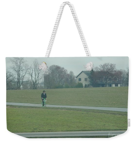 Going For A Visit Weekender Tote Bag