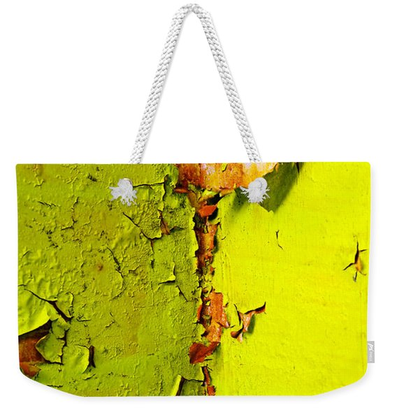 Weekender Tote Bag featuring the photograph Going Green by Skip Hunt