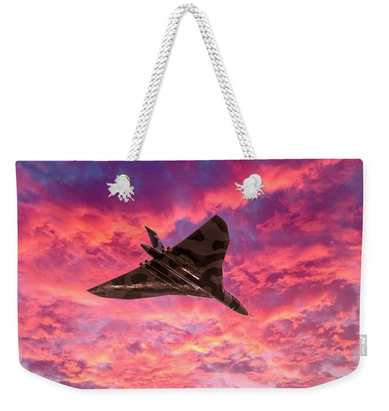 Going Out In A Blaze Of Glory Weekender Tote Bag