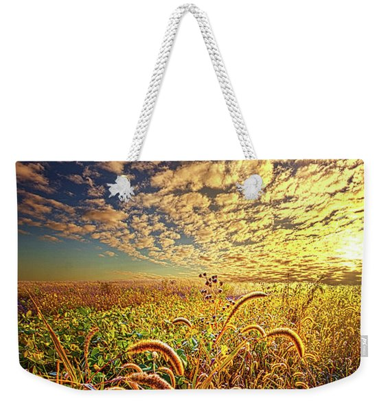 Going To Sleep Weekender Tote Bag