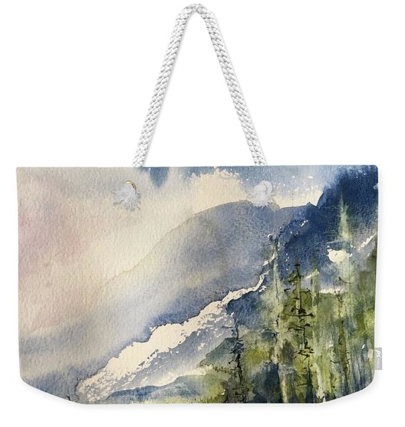 Going To The Sun Road Glacier National Park Montana Weekender Tote Bag