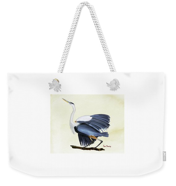 Going With The Wind Weekender Tote Bag