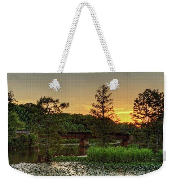 Gold Creek Sunset Weekender Tote Bag