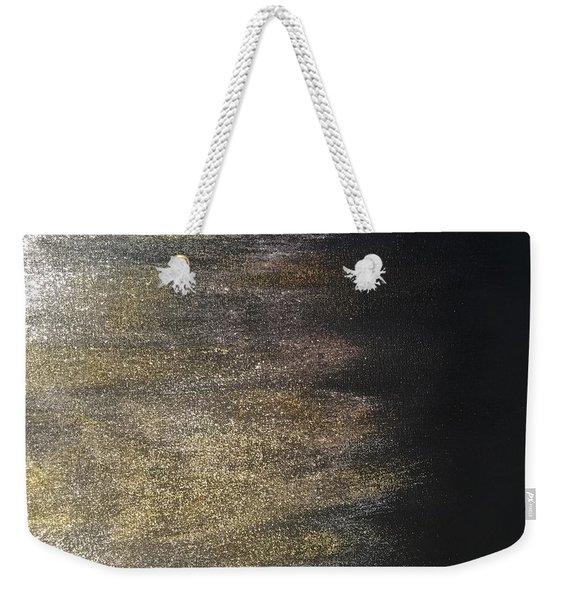 Gold Dusty Night Weekender Tote Bag