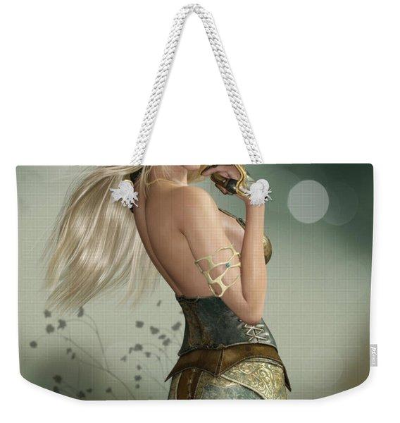 Gold Weekender Tote Bag