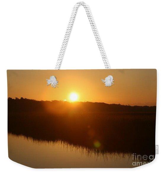Gold Morning Weekender Tote Bag