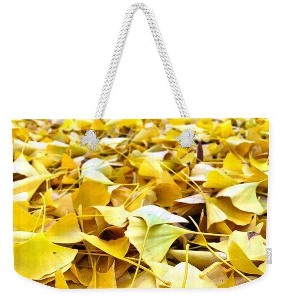 Gold Strike Weekender Tote Bag
