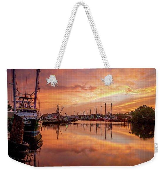 Golden Bayou 2 Weekender Tote Bag