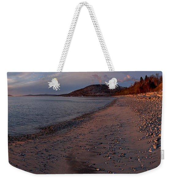 Golden Beach Weekender Tote Bag