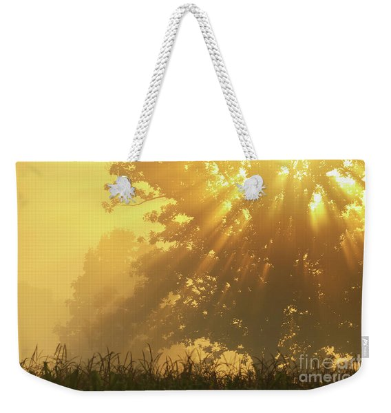 Golden Blessings Weekender Tote Bag