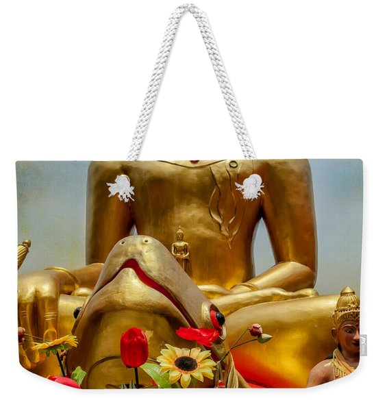 Flowers For Buddha  Weekender Tote Bag