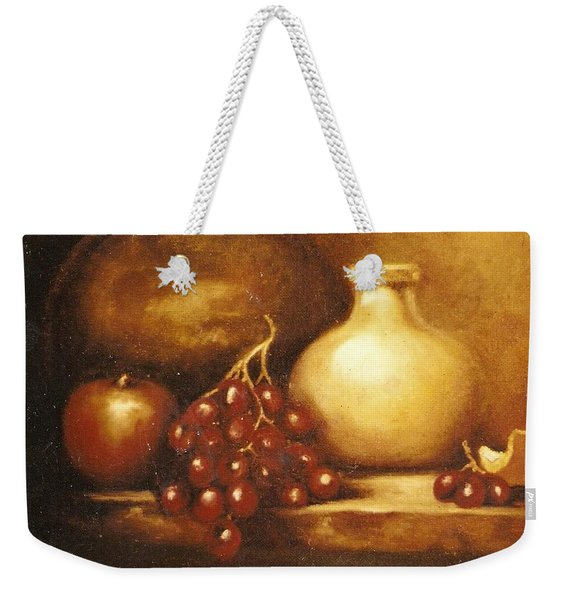 Golden Carafe Weekender Tote Bag