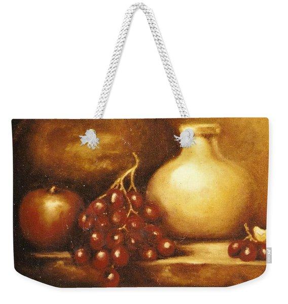 Golden Carafe Weekender Tote Bag