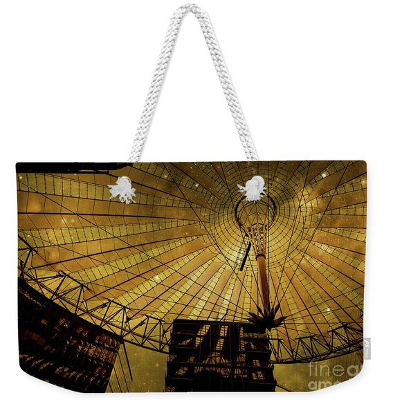 Golden Cosmic Berlin Weekender Tote Bag