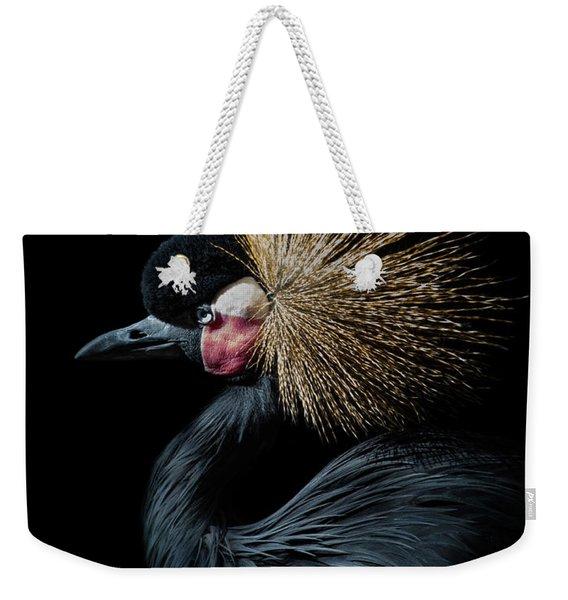 Golden Crown Weekender Tote Bag