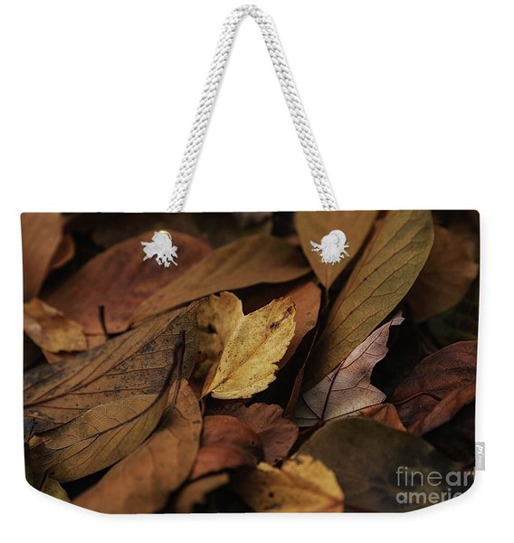 Golden Crunch Weekender Tote Bag